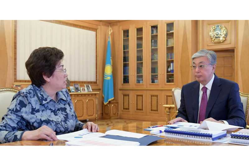 Kazakh President receives Education Minister