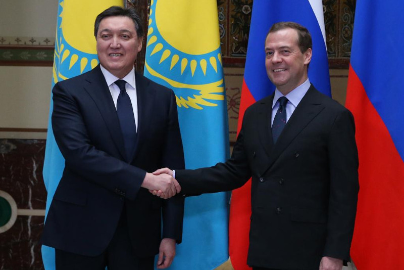 Kazakh and Russian PMs meet in Moscow