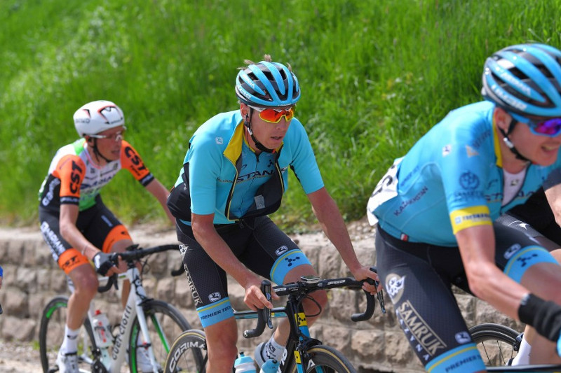 Astana Pro Team Jan Hirt closes Top 10 at Stage 4, Tour of the Alps