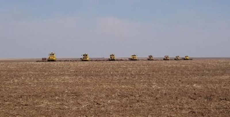 Аграрии Павлодарской области вышли в поле