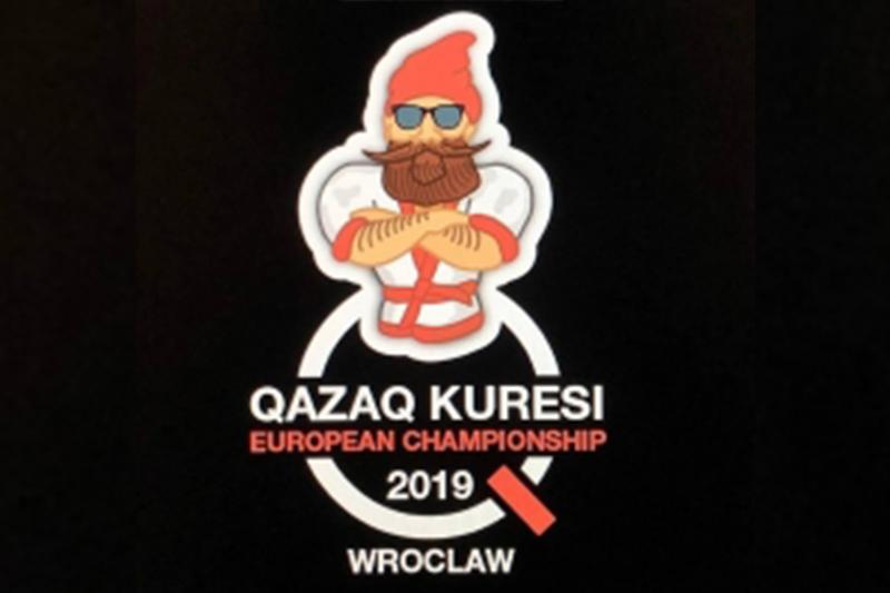 Гном қазақ күресінен Еуропа чемпионатының символына айналды