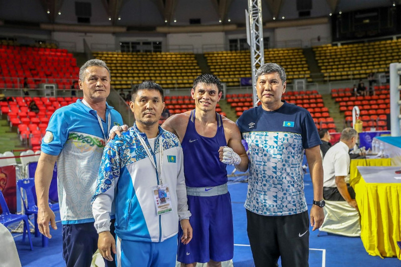 Kazakhstan bags silver at Asian Boxing Championships 2019