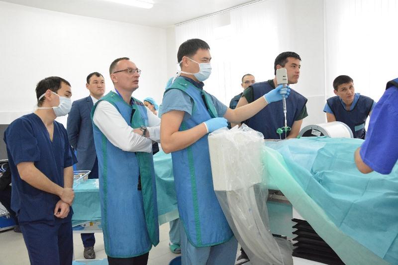 Хирурги могут «набить руку» в кадаверном центре медвуза Актобе