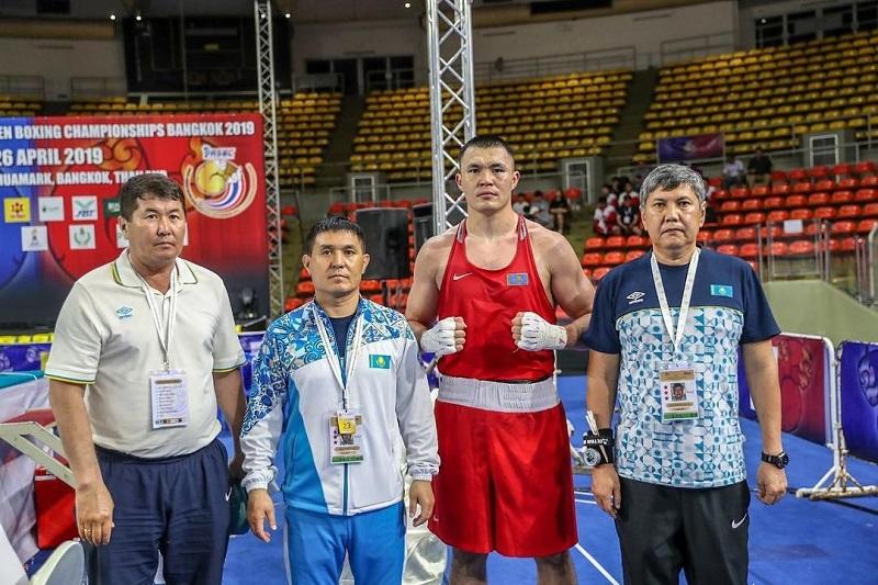 Бокстан Азия чемпионаты: Қамшыбек Қоңқабаев күміс жүлде алды