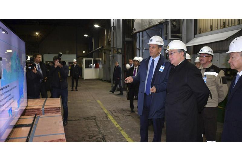 President Tokayev visits Kazzinc LLP