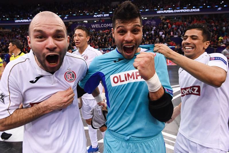 阿拉木图海拉特队闯入五人制足球欧冠决赛