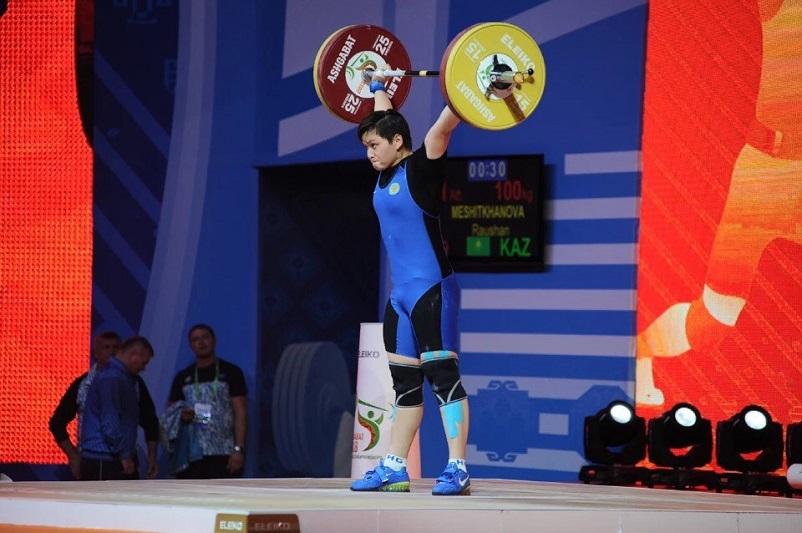 Ауыр атлет Раушан Мешітханова Азия чемпионатында қола жүлдегер атанды