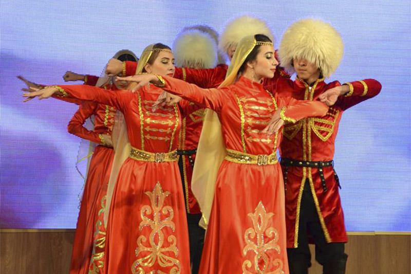 Чечено-ингушский хореографический ансамбль «Даймохк» Павлодара отметил 5-летие