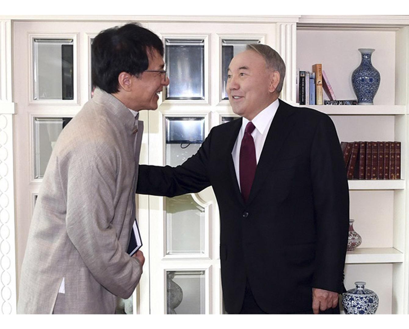 Нурсултан Назарбаев встретился с Джеки Чаном