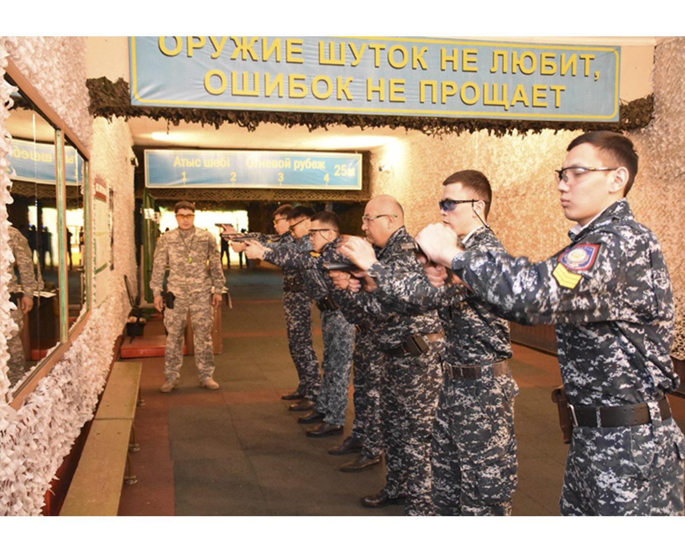 Новая система подготовки сотрудников органов внутренних дел внедрена  в Казахстане