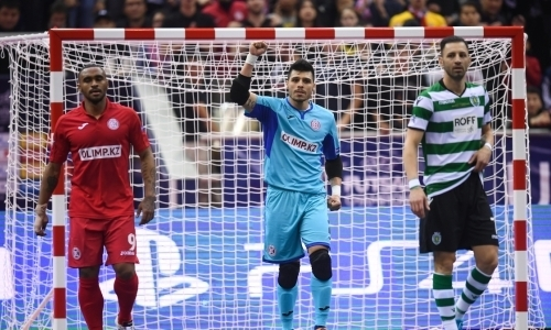 «Кайрат» проиграл «Спортингу» финал Лиги Чемпионов по футзалу