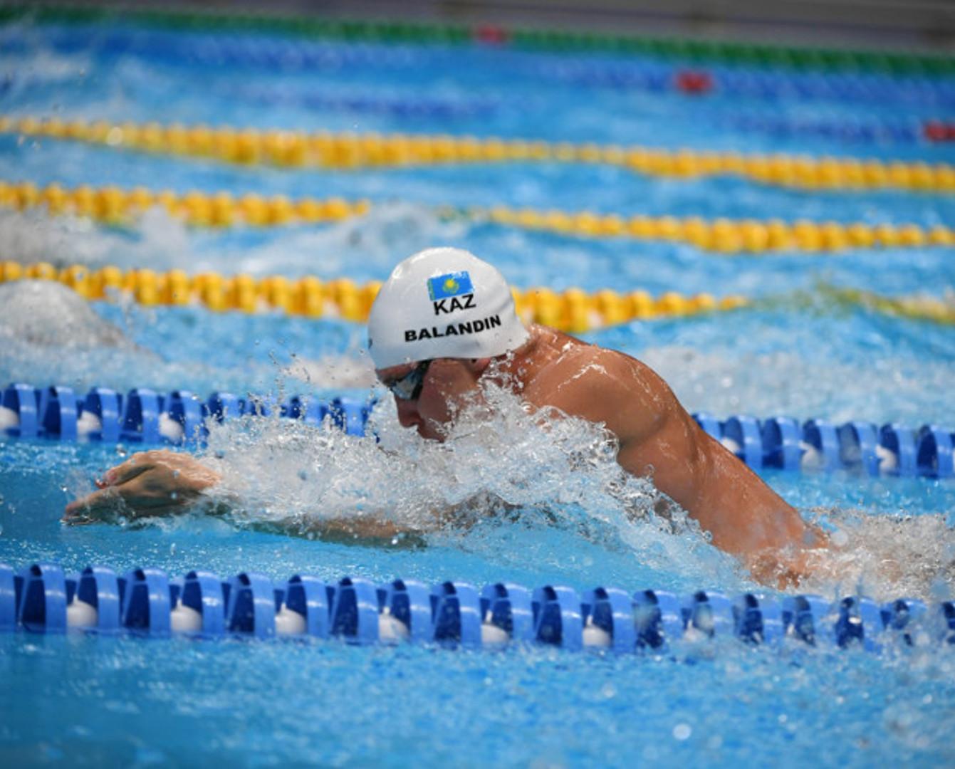 Дмитрий Баландин Токио Олимпиадасына жолдама алды