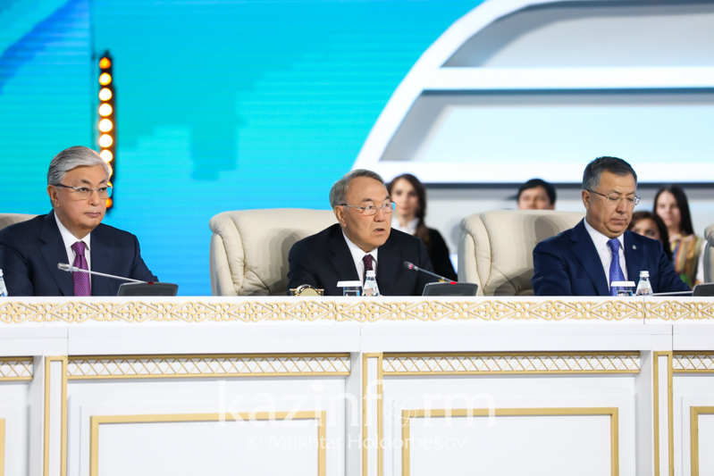 Полный текст выступления Нурсултана Назарбаева на XXVII сессии АНК