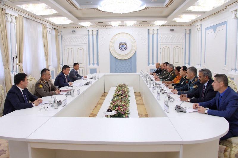 上合组织成员国国防部长会议在吉尔吉斯斯坦举行