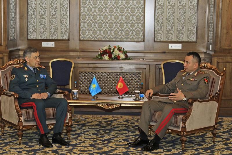哈吉两国国防部长举行会晤