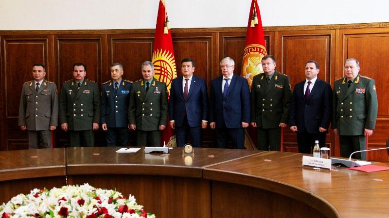 集安组织成员国国防部长理事会会议在吉尔吉斯斯坦举行