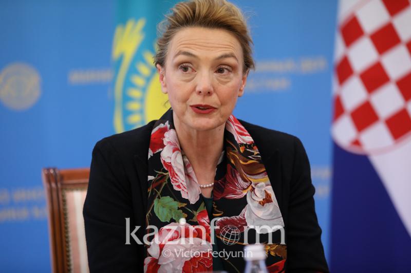 克罗地亚副总理:哈萨克斯坦是中亚地区的领头羊