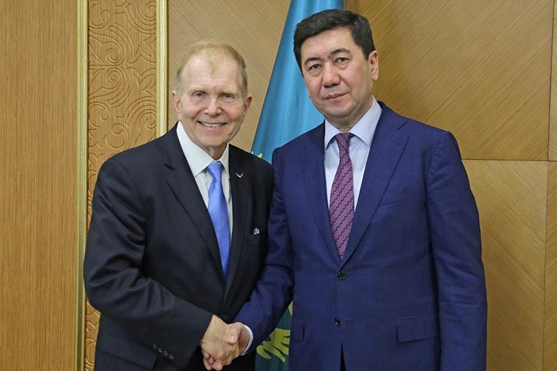 US Ambassador tours Karaganda rgn