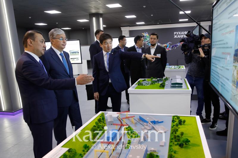 总统就阿拉木图市大型基础设施项目落实情况进行了解