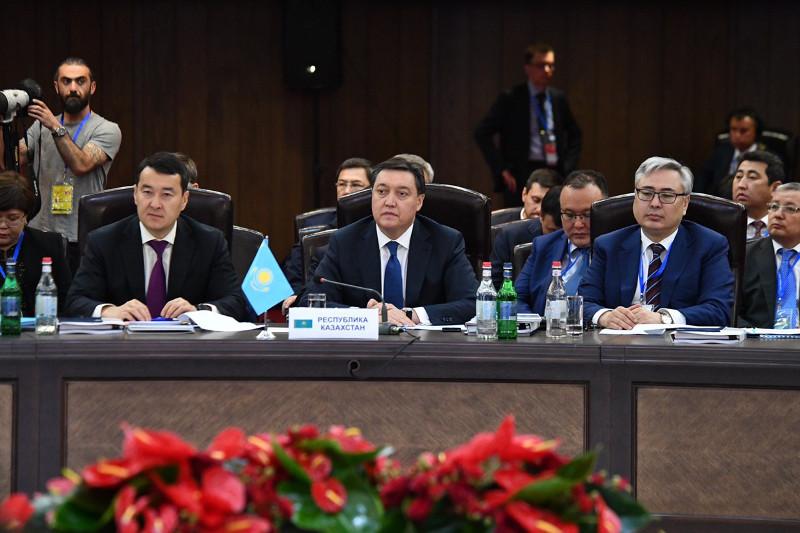 马明出席欧亚经济联盟政府间理事会会议