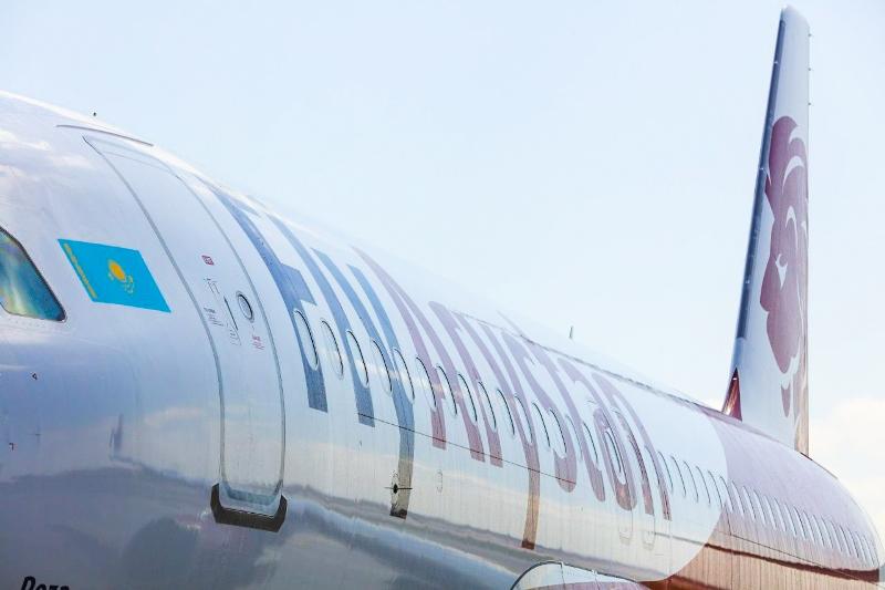 В Нур-Султан прилетел первый рейс лоукостера FlyArystan