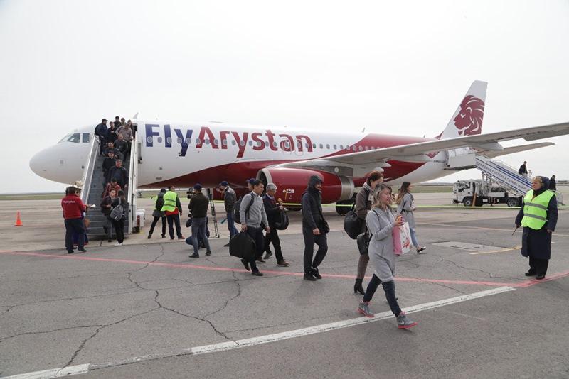 Рейсы по доступной цене из Караганды до Алматы запустил казахстанский лоукостер