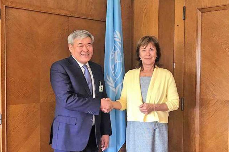International Green Technologies and Investment Projects Center boosting coop with UNECE, UNEP
