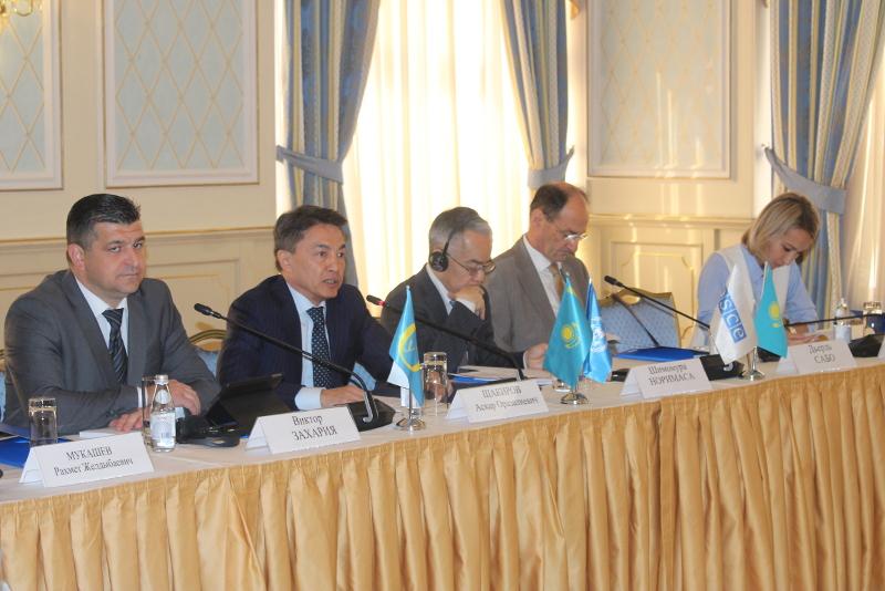 哈萨克斯坦纳人权专员介绍国家预防机制2018年成果综合报告