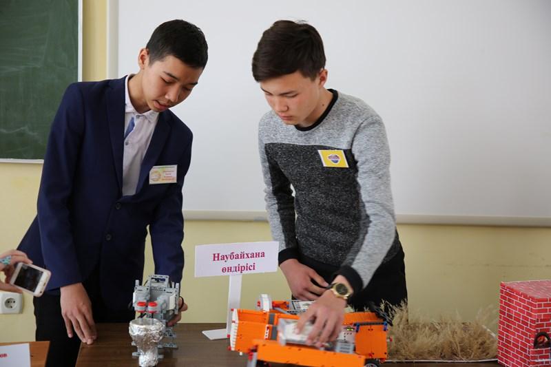Қызылордада робот техникасынан облыстық іріктеу чемпионаты өтті