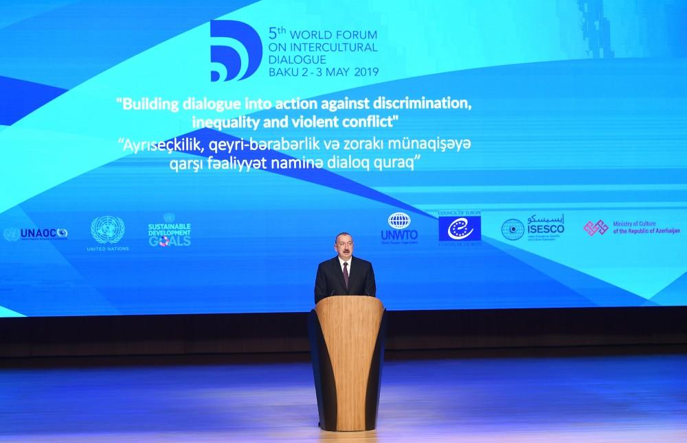 第五届全球跨文化对话论坛在阿萨拜疆开幕