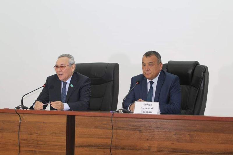 ҚР Парламенті Мәжілісінің депутаттары Түркістан облысы жұртшылығымен кездесті