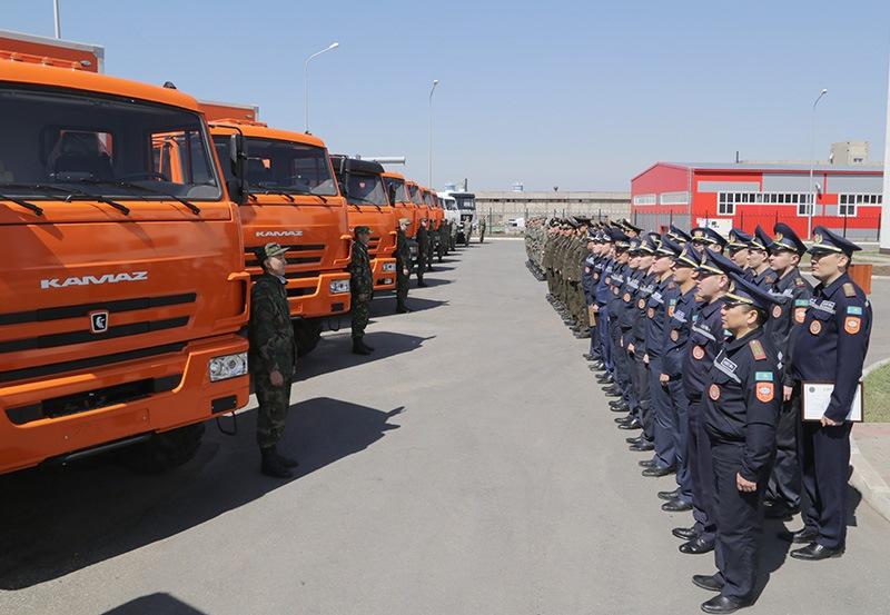 Новой техникой пополнился автопарк ДЧС Карагандинской области