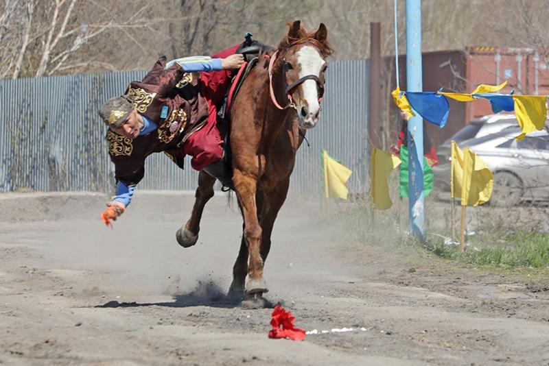 Фестиваль национальных видов спорта прошел в Караганде
