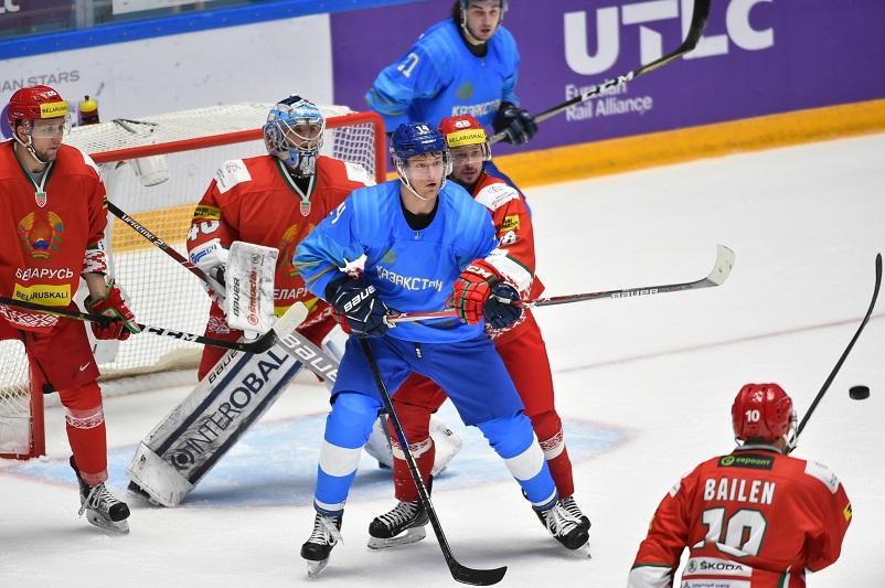 冰球:哈萨克斯坦队战胜白俄罗斯成功晋级2020年冰球世锦赛