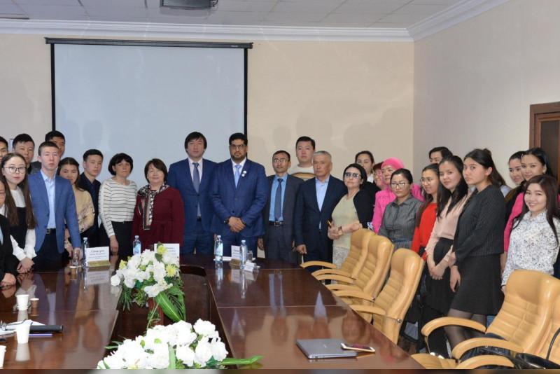 UAE Ambassador to Kazakhstan delivers speech on tolerance