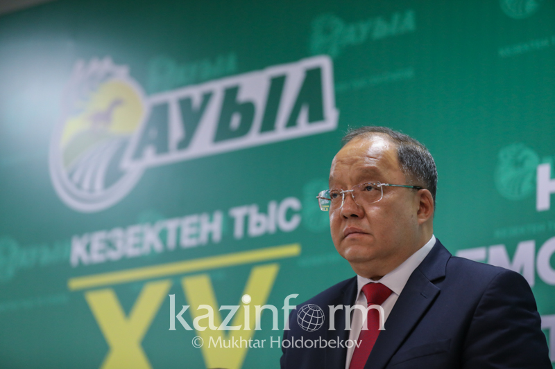 Toleutay Rakhimbekov's election platform presented to E Kazakhstan farmers