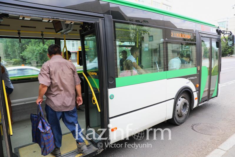 Астанада 8 автобустың бағдары уақытша өзгереді