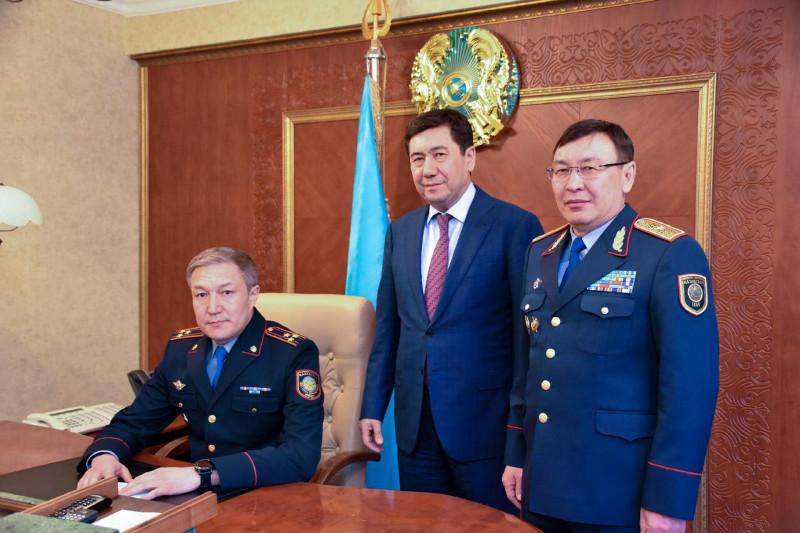 Новый начальник департамента полиции назначен в Карагандинской области