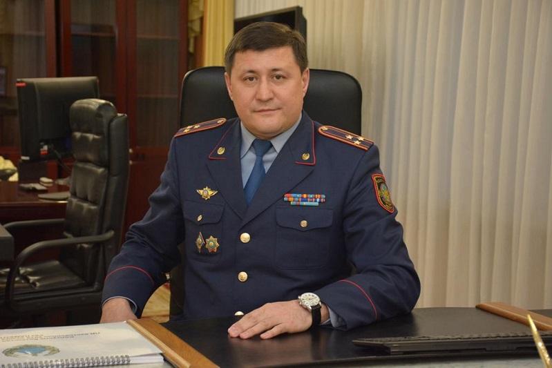 СҚО полиция департаментіне жаңа басшы тағайындалды