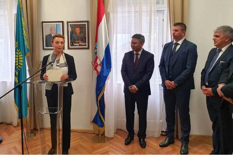 Хорватияда Қазақстанның консулдығы және  «KAZAKH INVEST» АҚ-ның өкілдігі ашылды