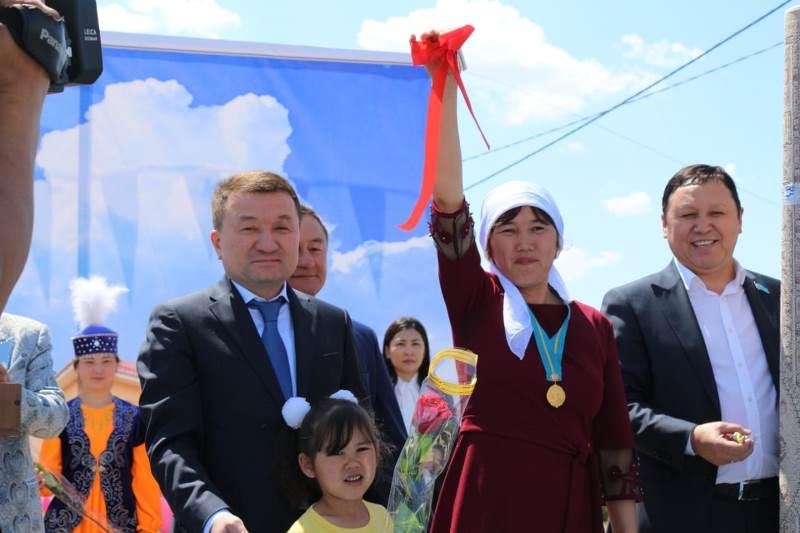 Алматы облысының Панфилов ауданында 40 отбасы баспаналы болды