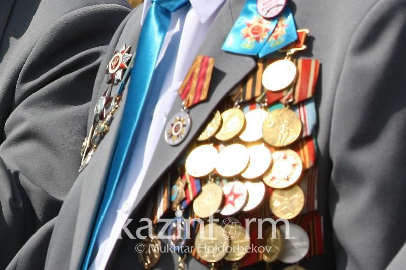 По 252,5 тысяч тенге получили ветераны в Шымкенте