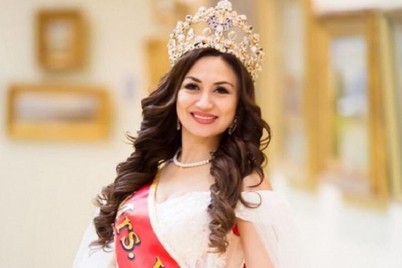 Leyla Kulzhanova from Semey wins Mrs.Universe-2019
