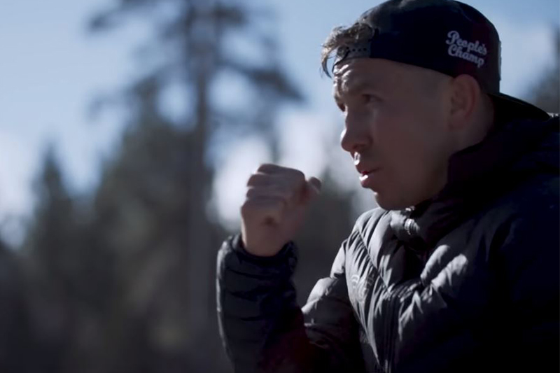 GGG presents video of first workouts with Johnathon Banks