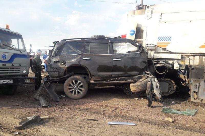 Замакима Акмолинской области погиб в ДТП