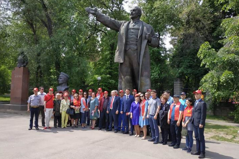 Мероприятие в поддержку Жамбыла Ахметбекова провели народные коммунисты в Алматы