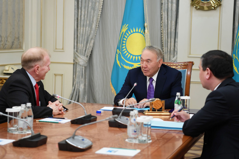 We have good relations with Donald Trump - Nazarbayev