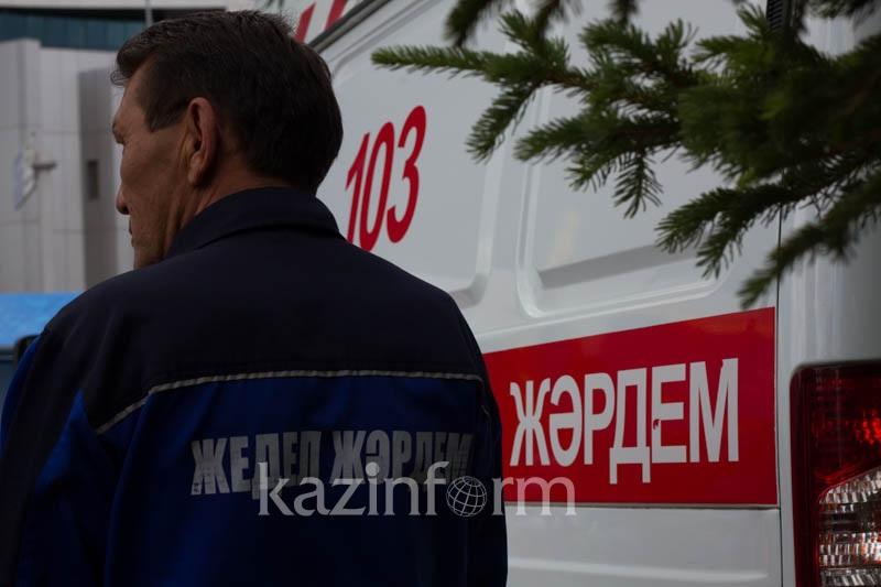 Ребенок и мужчина скончались при пожаре в ресторане в Туркестанской области