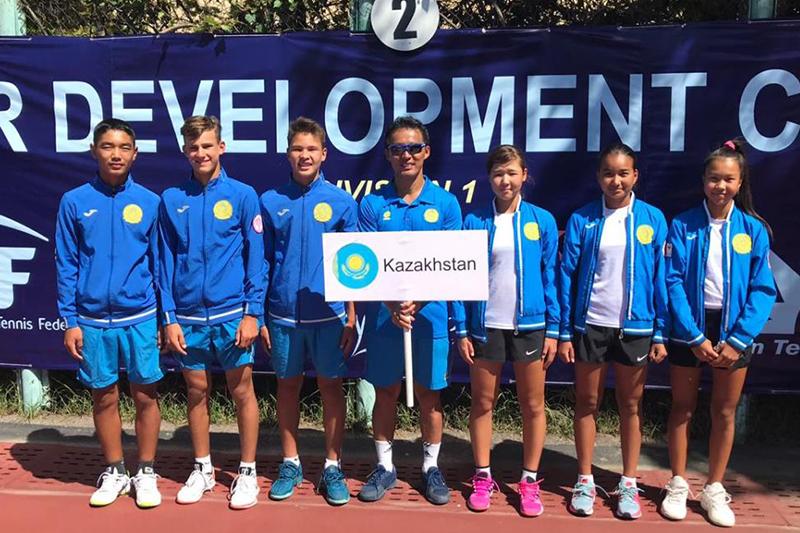 Казахстанские теннисисты выиграли чемпионат Азии среди юниоров в Ташкенте