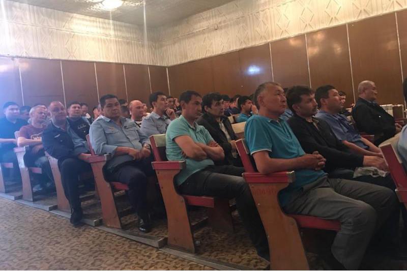 Члены штаба Касым-Жомарта Токаева встретились с коллективом АО «Локомотив»